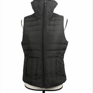 Kenneth Cole Reaction quilted brown zipper vest